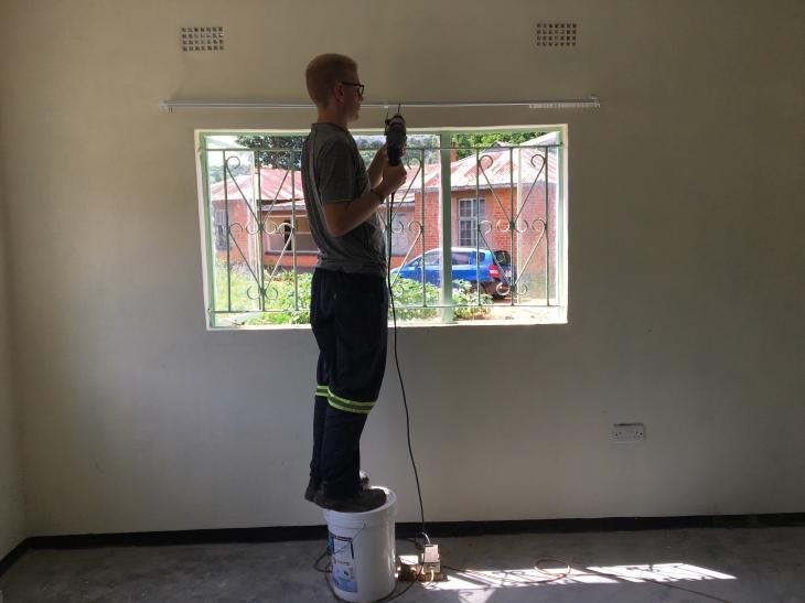 Neue Gardinenstangen